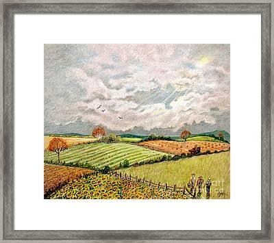 Summer Harvest Framed Print by Marilyn Smith