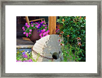 Summer Millstone Framed Print by Jan Amiss Photography