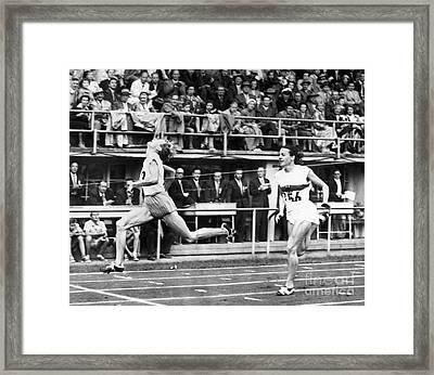 Summer Olympics, 1952 Framed Print by Granger