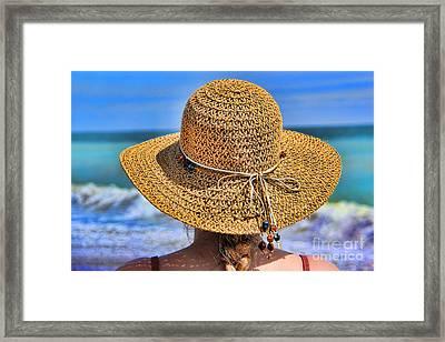 Summertime Framed Print by Mariola Bitner