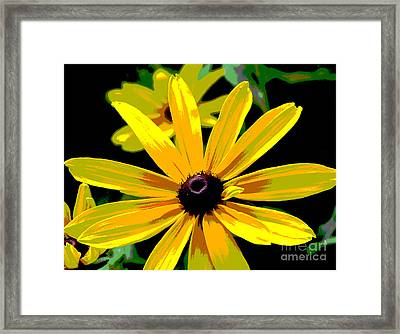 Summertime Sizzle Framed Print by Ann Powell