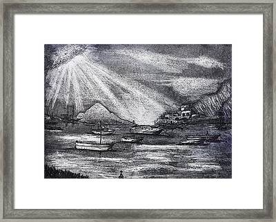 Sun Rays Framed Print by David Ter-Avanesyan
