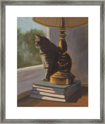 Sunday Afternoon Framed Print by Karen Cummings