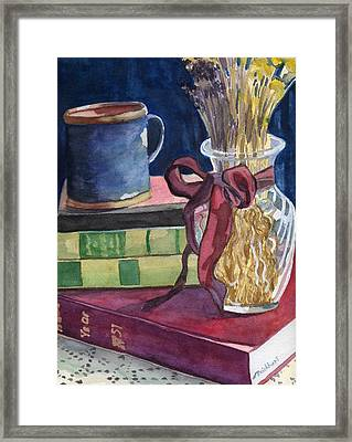 Sunday Afternoon Framed Print by Lynne Reichhart