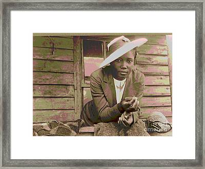 Sunday Best Framed Print by Padre Art