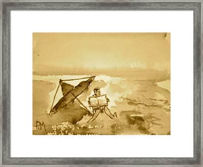 Sunday Mornin Sepia Framed Print by Pete Maier