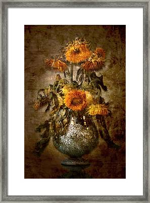 Sunflowers Framed Print by Marc Huebner