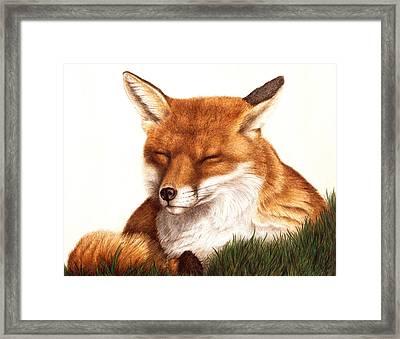 Sunnin' Framed Print by Pat Erickson