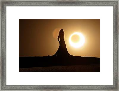 Sunny Side Up Framed Print by Dario Infini