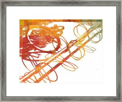 Sunny Summer Afternoon Framed Print by Ann Powell
