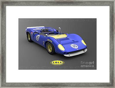 Sunoco Special Framed Print by Pete Chadwell
