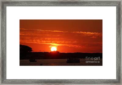 Sunrise 7547 Framed Print by Chuck Smith