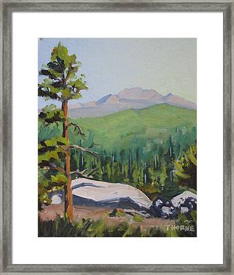Sunrise At Idyllwild's Nature Center Framed Print by Marcus Thorne