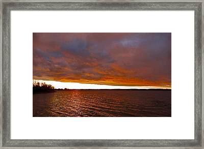 Sunrise At Ile-bizard ...  Framed Print by Juergen Weiss