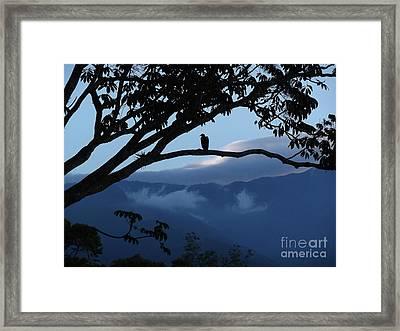 Sunrise At Talari Lodge Framed Print by Heather Jett