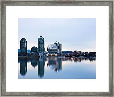 Sunrise In Vancouver Framed Print by Marion McCristall