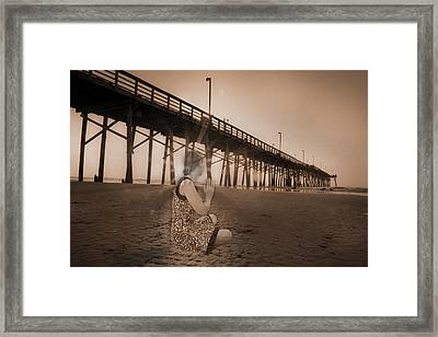 Sunrise Meditation Framed Print by Betsy C Knapp