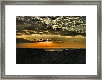 Sunrise Over Assateague II Framed Print by Steven Ainsworth