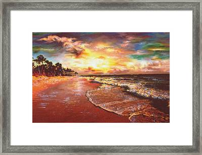 Sunset 3 Framed Print by Eric Sosnowski