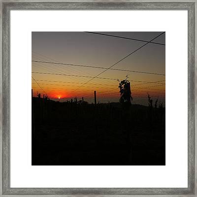 Sunset 3 Framed Print by Jl Zufiria