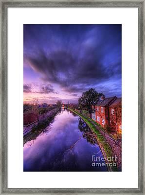 Sunset At Loughborough Framed Print by Yhun Suarez