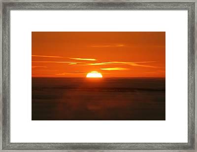 Sunset Framed Print by Laurent Laveder