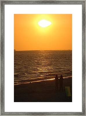 Sunset Framed Print by Ronald T Williams