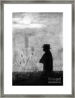 Sunset Framed Print by Shashi Kumar