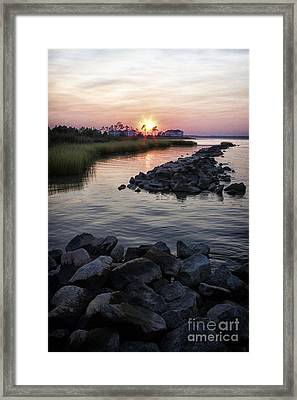 Sunset Framed Print by Thanh Tran