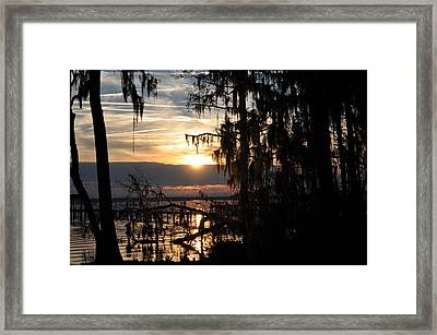 Sunset View Framed Print by Tiffney Heaning