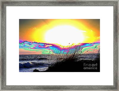 Super Nova Framed Print by Don Youngclaus