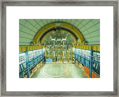 Supernova Neutrino Detector Framed Print by Volker Steger