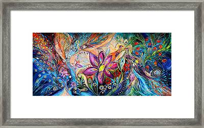 Supremacy Of Blue Framed Print by Elena Kotliarker