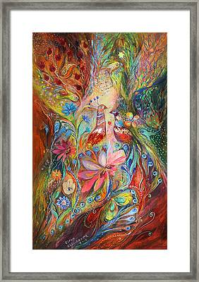 Supremacy Of Red Framed Print by Elena Kotliarker