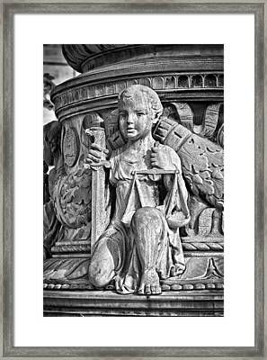 Supreme Court Building 3 Framed Print by Val Black Russian Tourchin