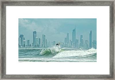 Surfers Paradise Framed Print by Thomas Kurmeier