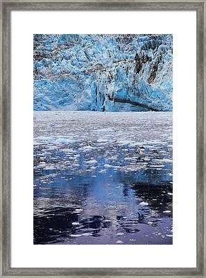 Surprise Glacier Framed Print by Rick Berk