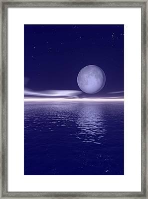Surreal Landscape Framed Print by Paul Sale Vern Hoffman
