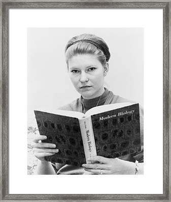 Susan Epperson, The Plaintiff Framed Print by Everett