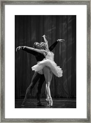 Swan Lake  White Adagio  Russia 2 Framed Print by Clare Bambers