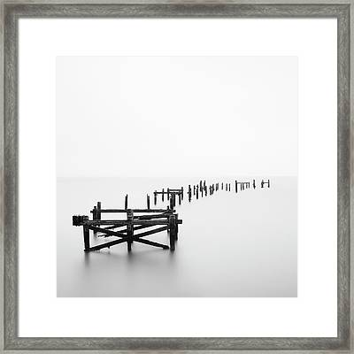 Swanage Pier Framed Print by Doug Chinnery