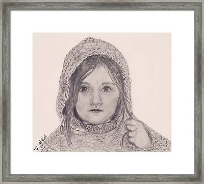 Sweater Framed Print by Michelle Wolff