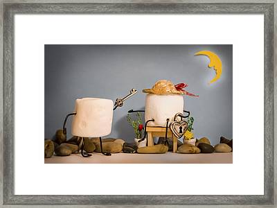 Marriage Proposal Framed Print featuring the photograph Sweet Heart by Heather Applegate