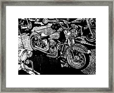Sweet Ride Framed Print by John Tate