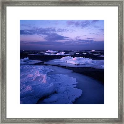 Sweet Seascape Light Framed Print by Romeo Koitmae