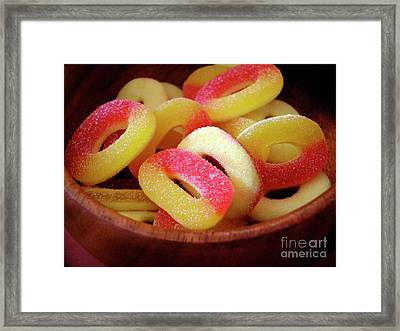 Sweeter Candys Framed Print by Carlos Caetano