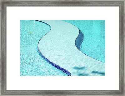 Swimming Pool Framed Print by Dogra Exposures