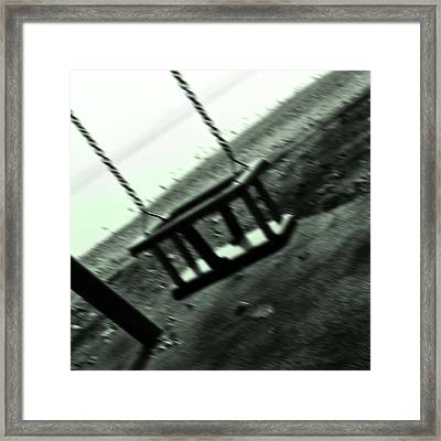 Swing Framed Print by Joana Kruse