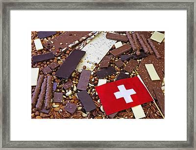Swiss Chocolate Framed Print by Joana Kruse