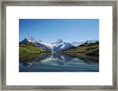 Swiss Primary Rocks Framed Print by Joachim G Pinkawa